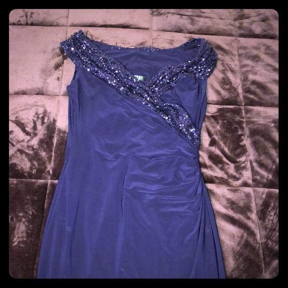 1395af64 Ralph Lauren Dresses | Formal Dress Navy Blue Size 10 | Poshmark